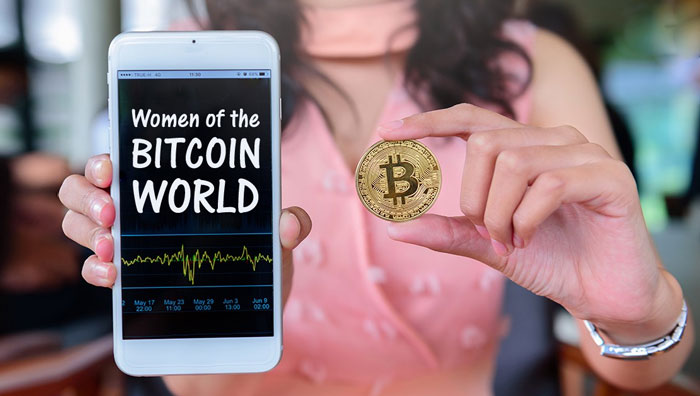 Женщины в криптовалюте